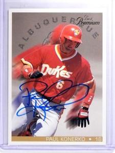 1997 Best Premium Paul Konerko Autograph #D206/250 *63254