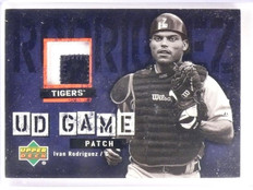 2006 Upper Deck Ivan Rodriguez UD Game Jersey Patch #UDIR *55576