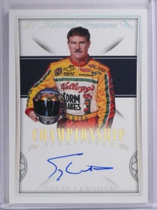 2016 National Treasures Championship Terry Labonte Autograph #D18/50 #CSTL *6530