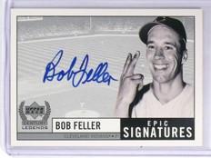 1999 Upper Deck Century Legends Epic Signatures Bob Feller Autograph auto *58015
