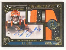 2015 Topps Museum Collection A.J. Green Triple Patch Autograph 11/25 SSTRAG *532