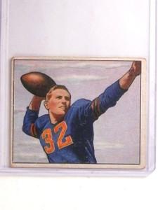 1950 Bowman Johnny Lujack #26 VG *66873