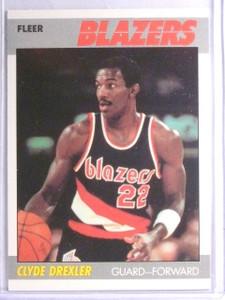 1987-88 Fleer Clyde Drexler #30 *65962