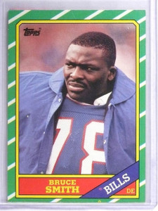 1986 Topps Bruce Smith Rookie RC #389 *62617