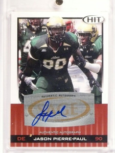 2010 Sage Hit Jason Pierre-Paul Autograph Auto Bronze #A90 *52796