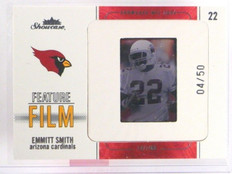 2004 Fleer Showcase Feature Film Emmitt Smith #D04/50 #5of10FF *35630