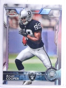 2015 Topps Chrome Refractor Amari Cooper Rookie RC #115 *63074