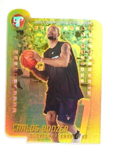 2002-03 Topps Pristine Carlos Boozer Rookie RC Gold Refractor #D46/99 #122 *5155
