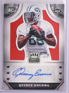 2014 Crown Royale Signatures Quincy Enunwa Rookie Autograph #D24/25 #SQA *67024