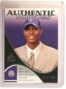 03-04 Sp Game Used Chris Bosh rc rookie #D374/999 #110 *46714