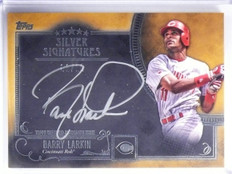 2016 Topps Five Star Silver Signatures Gold Barry Larkin autograph #D01/10 *5779