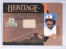 2005 Diamond Kings Heritage Collection Eddie Murray Bat #D078/100 #HC10 *65012