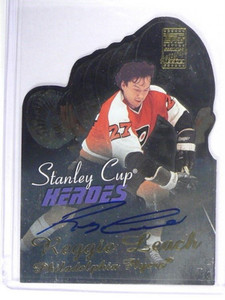 02-03 Topps Stanley Cup Heroes Reggie Leach auto autograph #SCHA-RL *40805