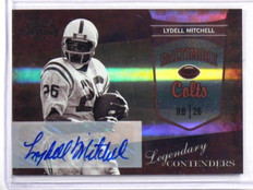 2010 Playoff Contenders Legendary Lydell Mitchell auto autograph #2 *37384
