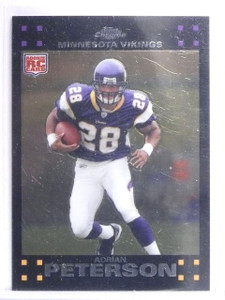 2007 Topps Chrome Adrian Peterson Rookie RC #TC181  *62151