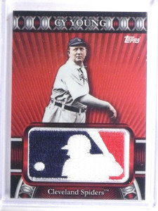 2010 Topps Manufactured MLB Logoman Patch Cy Young #D50/50 #LM82 *59089