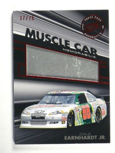 2012 Press Pass Redline Muscle Car Dale Earnhardt Jr. Sheet metal #D37/75 *35118