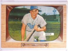 1955 Bowman Pee Wee Reese #37 EX *66856