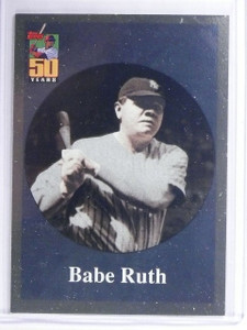 2001 Topps Before There Was Topps Babe Ruth #BT2 *62455