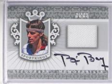 2012 Sportkings Silver Bjon Borg auto autograph Tennis shirt #AM-BBO1 sp/40 *362