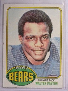 1976 Topps Walter Payton rc rookie #148 EX-MT *55100