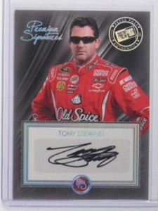 2010 Press Pass Premium Signatures Tony Stewart auto autograph #Ps-Ts *33498