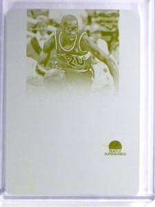 2014-15 National Treasures Gary Payton 1/1 Yellow Printing Plate #SMGP *56990