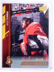 2015-16 Upper Deck Series 1 Kyle Turris High Gloss #D01/10 #136 *56978