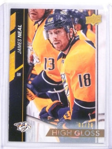 2015-16 Upper Deck Series 1 James Neal High Gloss #D0/10 #106 *56976