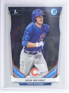 2014 Bowman Chrome Prospects Kris Bryant Rookie RC #BCP25 *64904