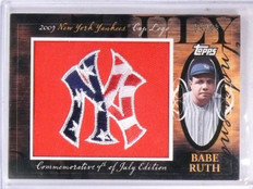 2010 Topps Manufactured Hot Logo Patch Babe Ruth #D05/99 #MHR216  *61433