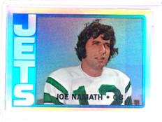1996 Topps Stadium Club Namath Finest Refractor Joe Namath #8 1972 *63323