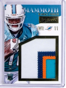 2015 Panini Playbook DeVante Parker Mammoth Patch RC #D26/50 #MMDP *56686