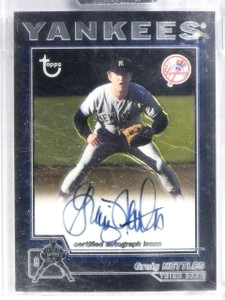 2004 Topps Retired Signatures Earl Weaver Autograph Auto