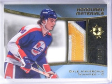 2015-16 Ultimate Collection Honoured Dale Hawerchuk 3clr patch #D08/10 *57879
