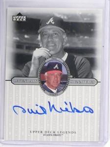 2000 Upper Deck Legends Legendary Signatures Phil Niekro Autograph #SPN *58663