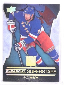 2015-16 Upper Deck Rick Nash Clearcut Superstars #CCS12 *53646