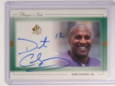 1999 Sp Authentic Player's Ink Daunte Culpepper autograph auto #DC-A *52335