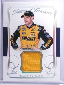 2016 Panini National Treasures Matt Kenseth Firesuit #D05/15 #FMMK *65424