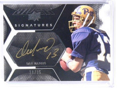 2012 Upper Deck Exquisite Black Dan Marino auto autograph #D10/35 #UDB-MD *40466