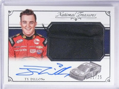 2016 National Treasures Ty Dillon Firesuit Autograph #D21/25 #JFSTD *65301