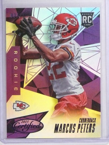 2015 Panini Certified Mirror Purple Marcus Peters Rookie #D03/10 #168 *65375