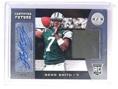 DELETE 13006 2013 Totally Certified Geno Smith autograph auto jersey rc rookie #11 *47309