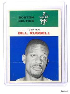 61-62 Fleer Bill Russell #38 VG+ *43437