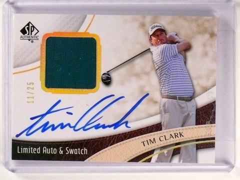 SOLD 2586 2014 Sp Authentic Limited Tim Clark autograph auto shirt #D11/25 #22 *46603