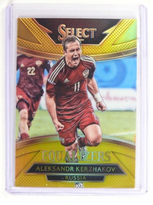 2015 Panini Select Soccer Gold Prizm Aleksandr Kerzhakov #D05/10 #16 *52147
