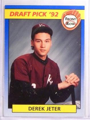 1992 Front Row Draft Picks Derek Jeter Rookie RC #55 *55703