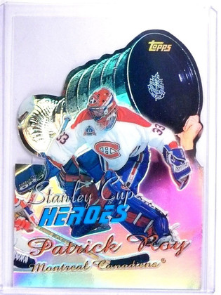 SOLD 7328 1999-00 Topps Stanley Cup Heroes Refractor Patrick Roy #SC9 *64484