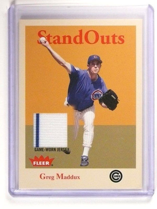 2005 Fleer Tradition Greg Maddux Stand Outs Jersey #SO-GM *47122
