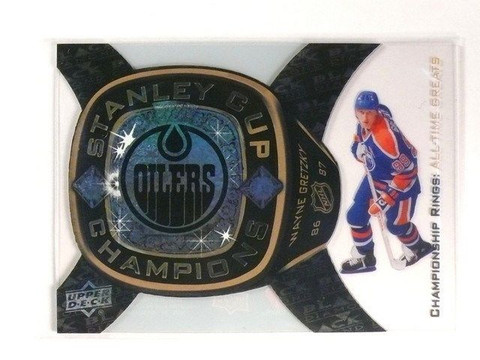 SOLD 35 11-12 Black Diamond Championship Rings Greats Wayne Gretzky #ATG-14 *46238